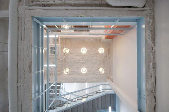 지하1층 - 1층천정