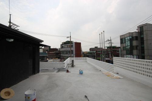 증축후 옥상